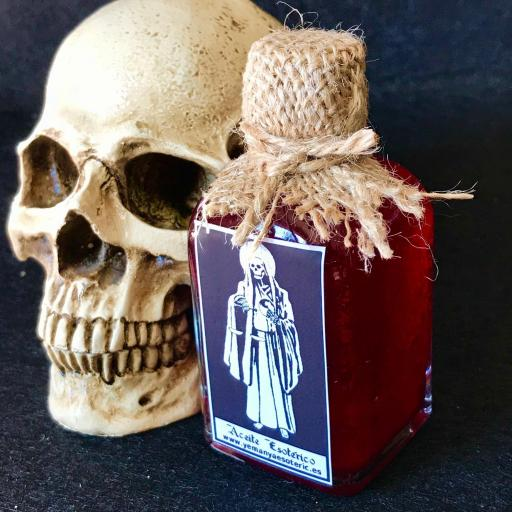 ☆ SANTISIMA MUERTE ☆ ACEITE ESOTERICO ☆HOLY DEATH RITUAL OIL ☆50ml. SANTA MUERTE