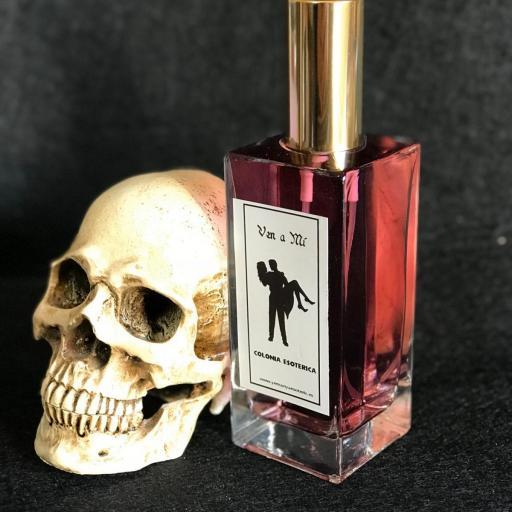 ☆ VEN A MI ☆ COLONIA ESOTERICA ☆☆ 50 ml. Wicca Spell Magick Perfume Ritual