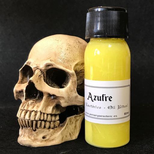 """ACEITE ESOTERICO """"AZUFRE""""  60 ml"""