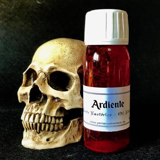 """ACEITE ESOTERICO """"ARDIENTE"""" 60 ml"""