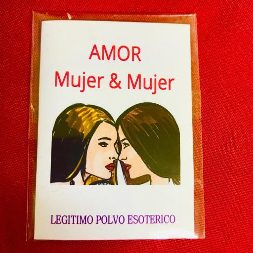 """LEGITIMO POLVO ESOTERICO """" AMOR MUJER & MUJER """""""