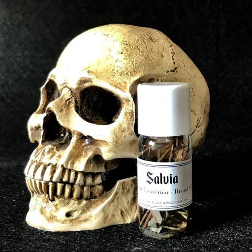 ☆ SALVIA ☆ RITUAL OIL ANOINTING  10 ml