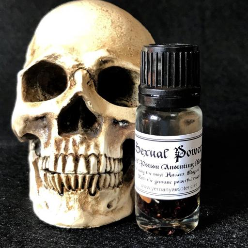 ☆PODER SEXUAL☆ OIL POTION ANOINTING RITUAL 10 ml