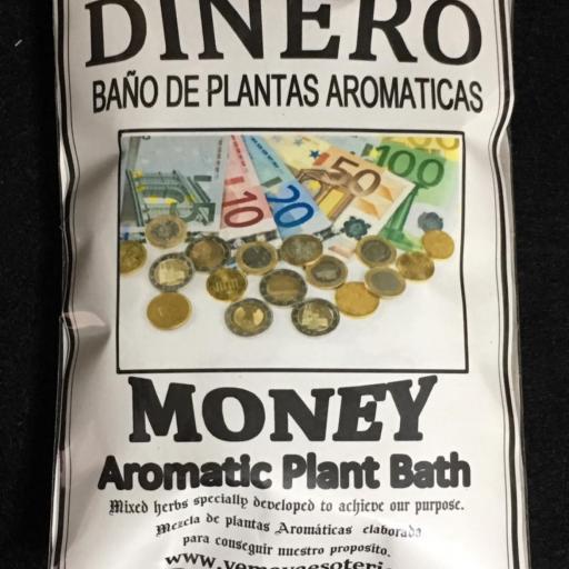BAÑO DE PLANTAS DINERO