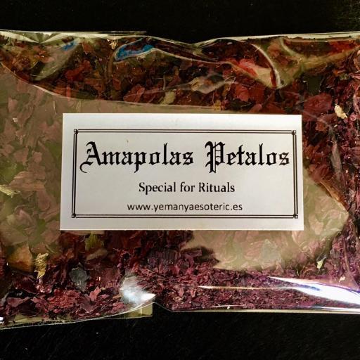 Amapola  Petalos  10 gr.