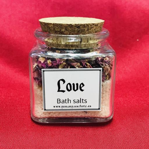 "LOVE BATH SALTS - BAÑO DE SALES "" AMOR "" - TARRO"