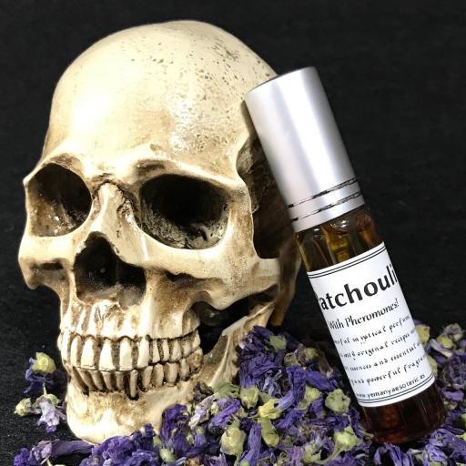 """Poderoso Perfume """" PATCHOULI """" con feromonas fragancia 10ml"""
