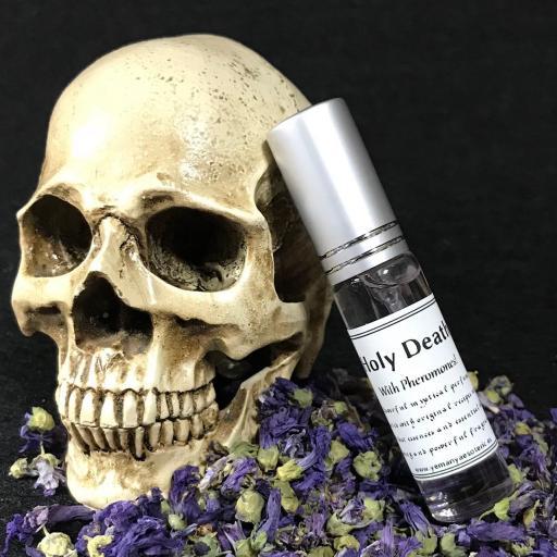 "Poderoso Perfume "" SANTA MUERTE "" con feromonas fragancia 10ml fragancia"