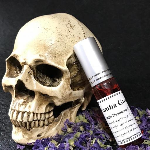 """Poderoso Perfume """" POMBA GIRA """" con feromonas fragancia 10ml fragancia"""