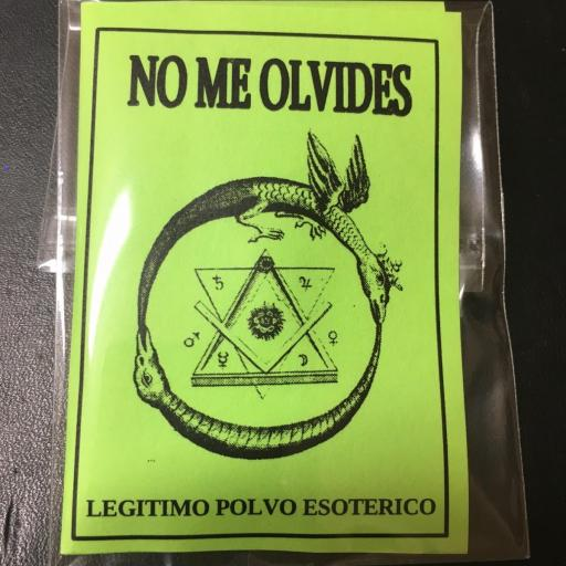 """ NO ME OLVIDES "" LEGITIMO POLVO ESOTERICO"