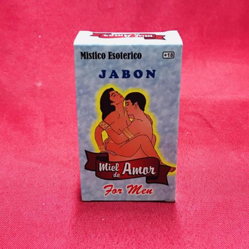 Jabon Esoterico Miel de amor ( para ellos ) 100 gr.