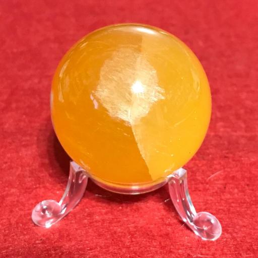 Esfera de Calcita Amarilla +4cm