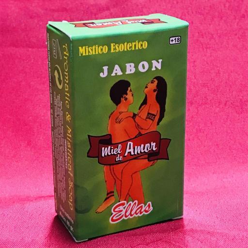 Jabon Esoterico Miel de amor ( para ellas ) 100 gr.