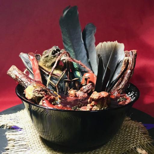 Poderosa Ofrenda para el Demonios - solo para ritos y ceremonias para el diablo - magia negra - magia roja - ritual satánico - magia mayor  [3]