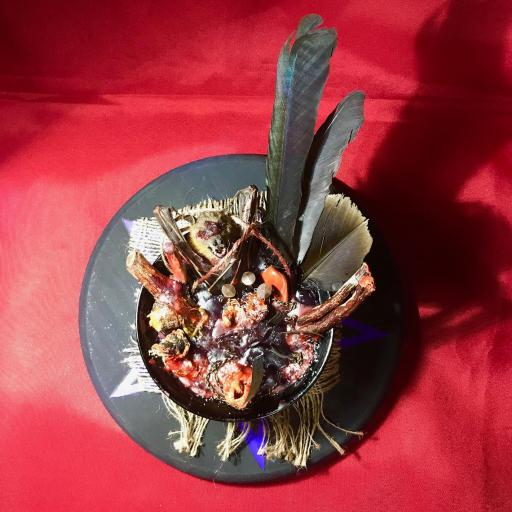 Poderosa Ofrenda para el Demonios - solo para ritos y ceremonias para el diablo - magia negra - magia roja - ritual satánico - magia mayor  [1]
