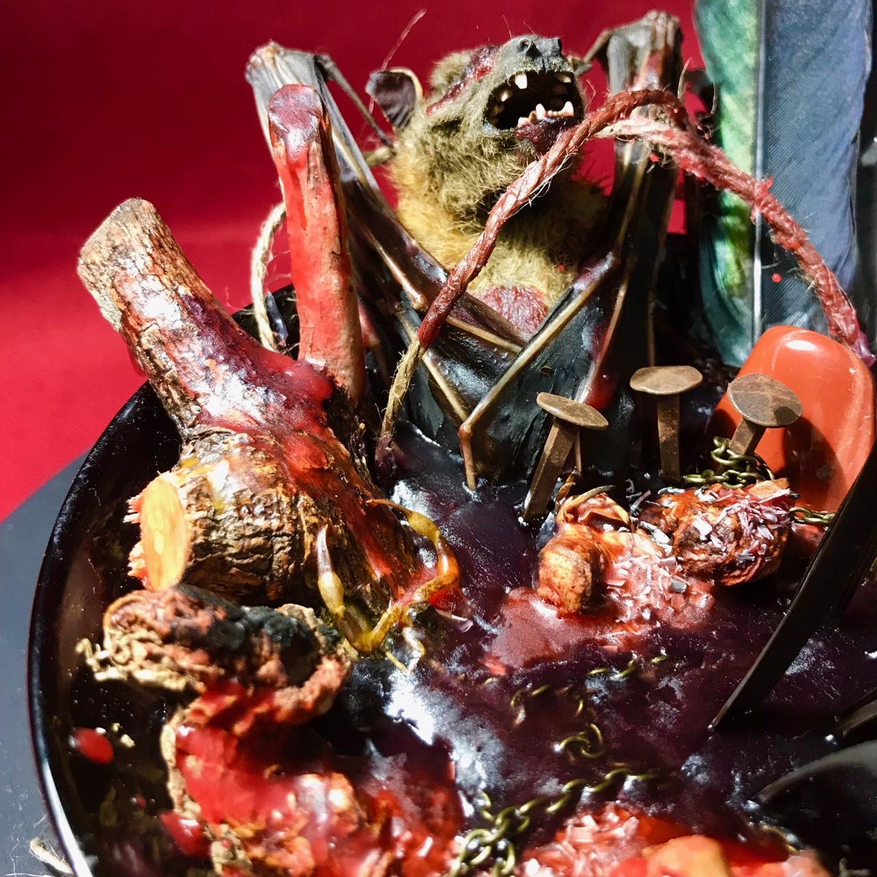 Poderosa Ofrenda para el Demonios - solo para ritos y ceremonias para el diablo - magia negra - magia roja - ritual satánico - magia mayor