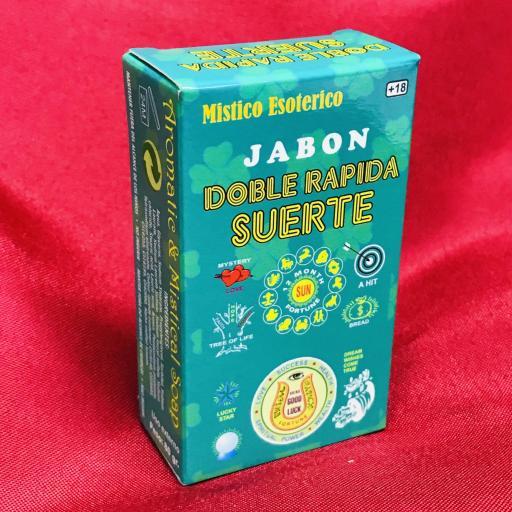 Jabon Esoterico Doble Suerte Rapida 100 gr.