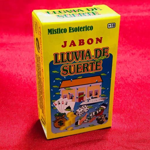 Jabon Esoterico Lluvia de Suerte 100 gr.