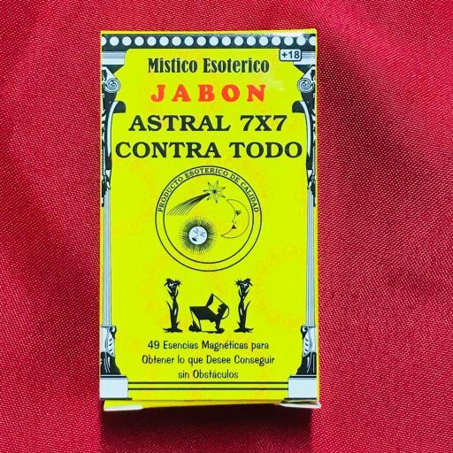 Jabon Esoterico Astral 7x7 100 gr.