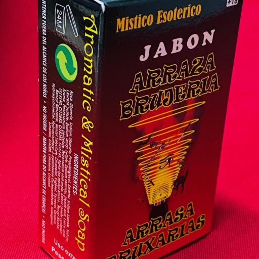 Jabon Esoterico Arrasa Brujerias 100 gr.