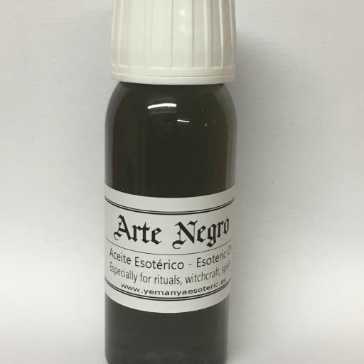 "ACEITE ESOTERICO ""ARTE NEGRO""  60 ml"