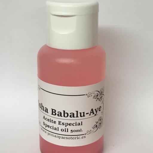 "ACEITE ESPECIAL ""ORISHA BABALU - AYE "" 50 ml"