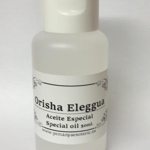 """ACEITE ESPECIAL """"ORISHA ELEGGUA """" 50 ml"""