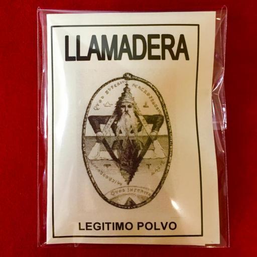 ☆ LLAMADERA ☆ LEGITIMO POLVO ESOTERICO