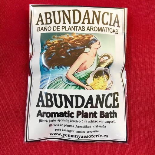 BAÑO DE PLANTAS ABUNDANCIA
