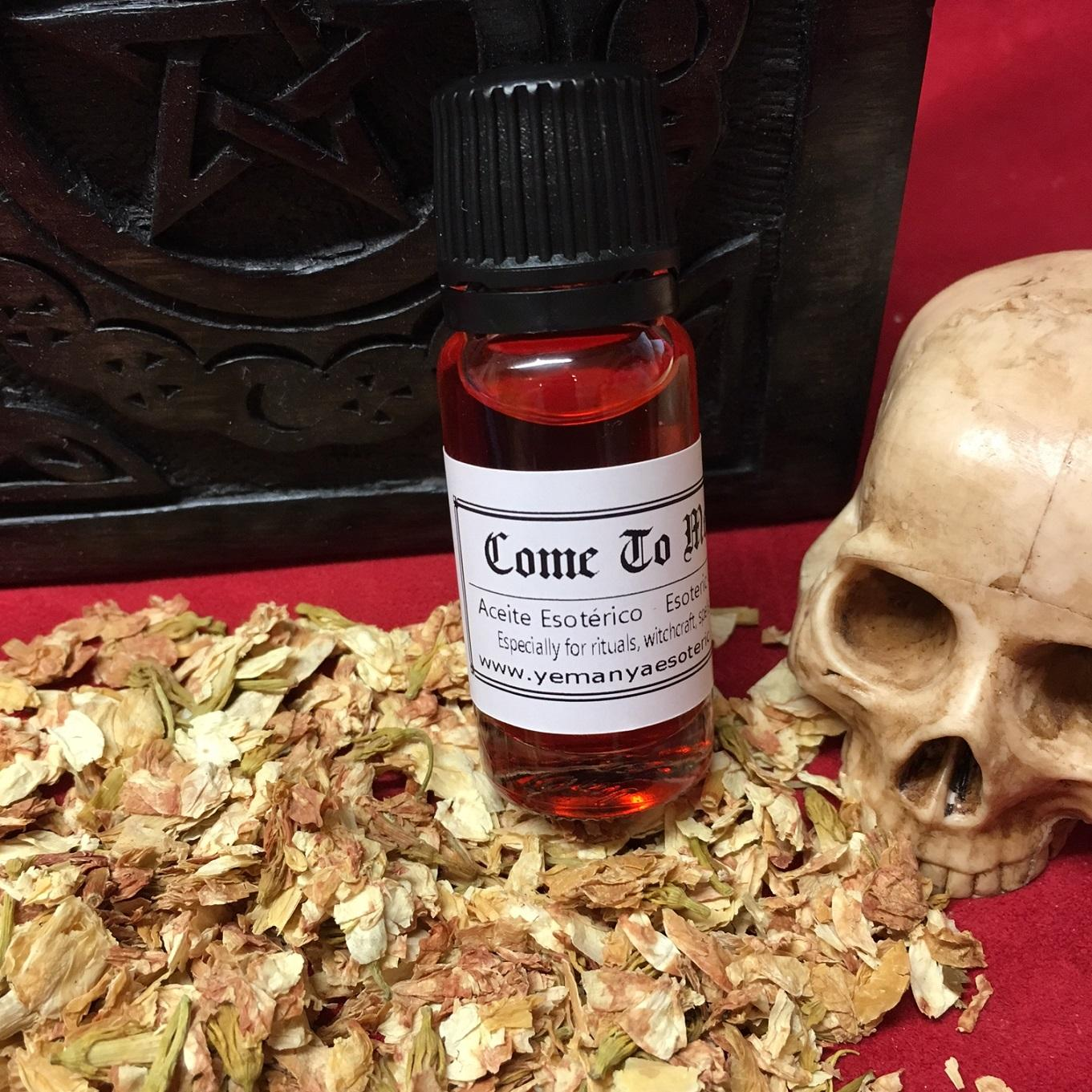 ☆ COME TO ME ☆ ACEITE ESOTERICO ☆☆ 10ml.