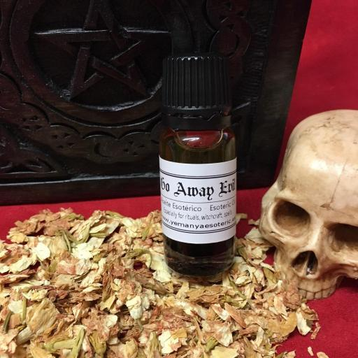 ☆ GO AWAY EVIL ☆ ACEITE ESOTERICO ☆☆ 10ml.