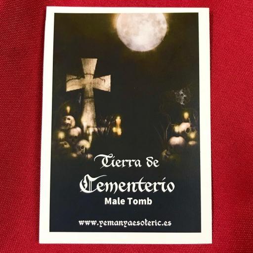 ☆ TIERRA DE CEMENTERIO ☆ TUMBA DE HOMBRE