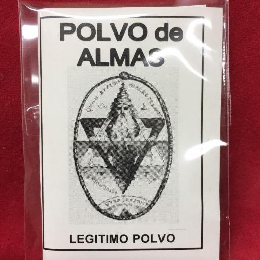 ☆ POLVO DE ALMAS ☆ LEGITIMO POLVO ESOTERICO ESPECIAL !!!