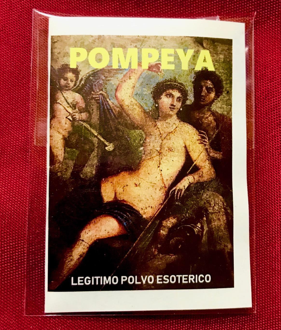 LEGITIMO POLVO ESOTERICO POMPEYA