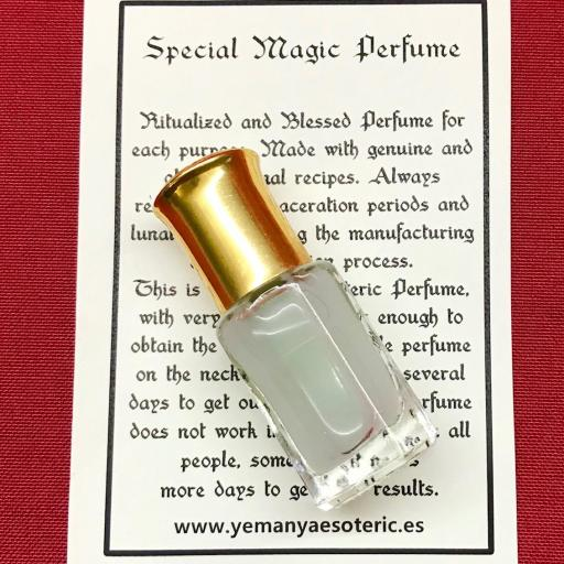 ⛤ Esoteric Perfume MARABAKI ⛤SUERTE - NEGOCIOS⛤ 6ml.