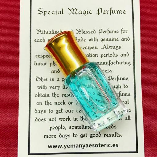 ⛤ Esoteric Perfume 7 POTENCIAS AFRICANAS ⛤ ⛤ 6ml.