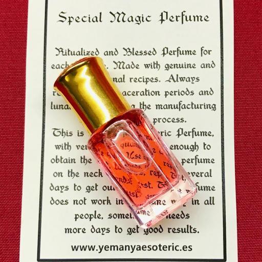 ⛤ Esoteric Perfume HECHIZO DE AMOR⛤ ⛤ 6ml.