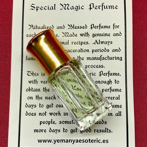 ⛤ Esoteric Perfume RIQUEZA⛤ DINERO TRABAJO⛤ 6ml.