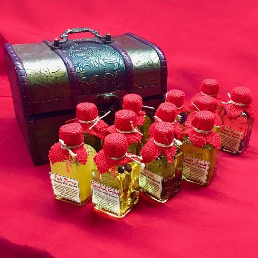 CAJA DE BRUJAS - X 12 ACEITES DE BRUJAS ESPECIAL 50 ml