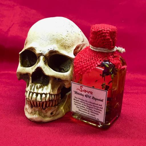 ꕥ ACEITE ESPECIAL BRUJAS PARA RITUALES AMOR 50 ml ꕥ