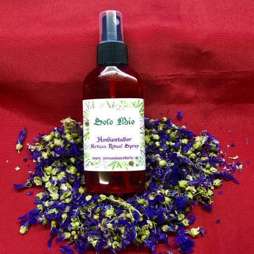 AMBIENTADOR ESOTERICO SOLO MIO - Ritual Spray 100 ml