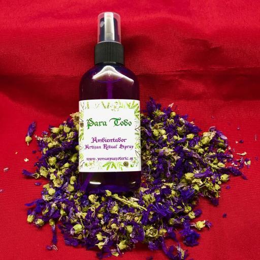 AMBIENTADOR ESOTERICO PARA TODO  - Ritual Spray 100 ml