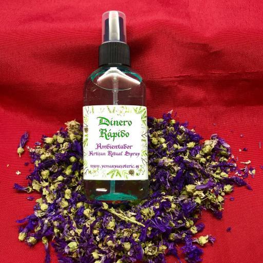 AMBIENTADOR ESOTERICO DINERO RAPIDO - Ritual Spray 100 ml