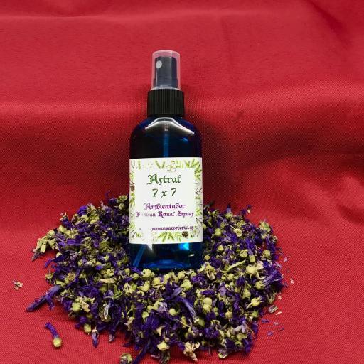 AMBIENTADOR ESOTERICO ASTRAL 7X7 - Ritual Spray 100 ml