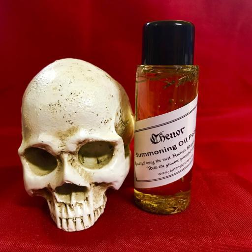 CHENOR - Demon Summoning Oil Potion - Aceite Poción de Invocación Demonio 60 ml