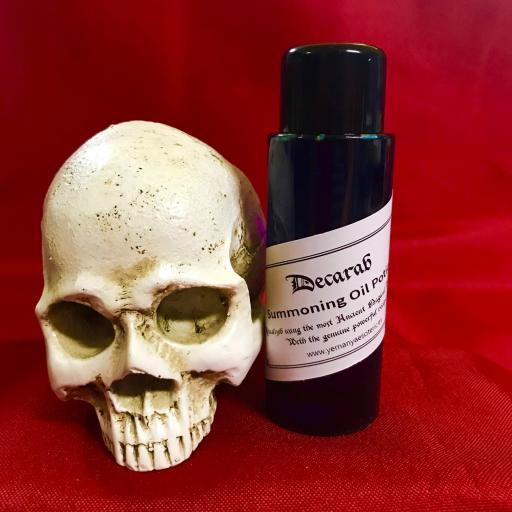 DECARAB - Demon Summoning Oil Potion - Aceite Poción de Invocación Demonio 60 ml