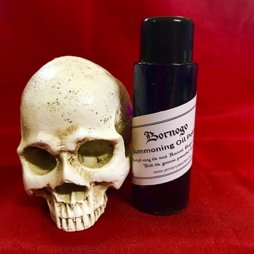 BORGONO - Demon Summoning Oil Potion - Aceite Poción de Invocación Demonio 60 ml