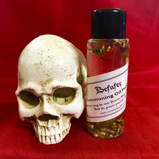BEFAFES - Demon Summoning Oil Potion - Aceite Poción de Invocación Demonio 60 ml