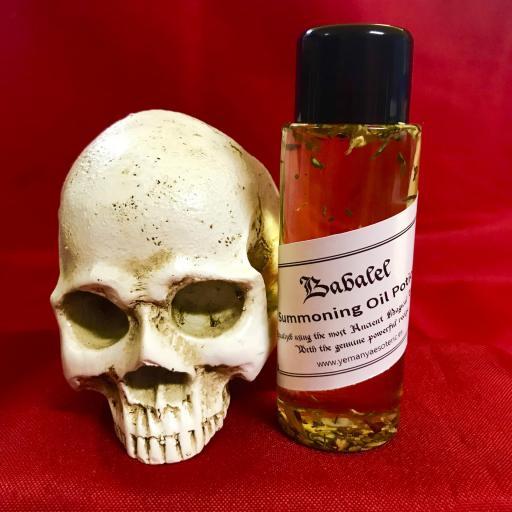 BABALEL - Demon Summoning Oil Potion - Aceite Poción de Invocación Demonio 60 ml