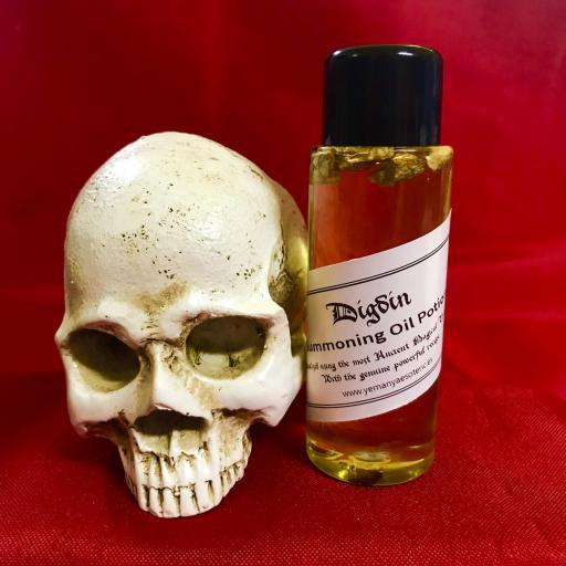 DIGDIN - Demon Summoning Oil Potion - Aceite Poción de Invocación Demonio 60 ml